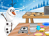 Холодное сердце: Олаф готовит кокосовый торт