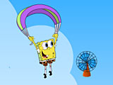 Губка Боб парашют