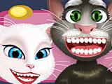 Том, Анжела и Рыжик лечат зубы