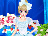 Холодное сердце: макияж Эльзы на свадьбу