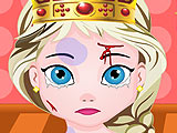Холодное сердце: малышка Эльза поранила голову