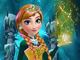 Холодное сердце: Анна готовится на бал