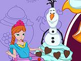 Готовка Холодное сердце: кексы Эльзы