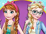 Холодное сердце: Эльза и Анна современные сестры