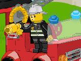 Лего пожарная станция