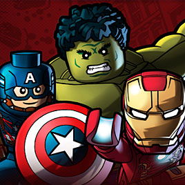 Лего Марвел команда супергероев