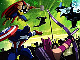 Мстители против гамма монстров