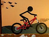 Стикмен велосипед