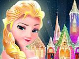 Эльза строит замок