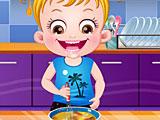 Малышка Хейзел время готовки