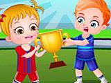 Малышка Хейзел: день спорта