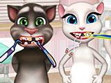 Том и Анжела лечат зубы