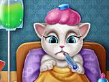 Анжела заболела гриппом