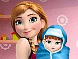 Анна рожает второго ребенка