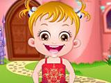 Малышка Хейзел макияж принцессы