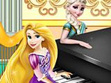 Эльза Рапунцель пианино