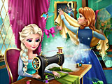 Эльза и Анна модные соперники