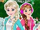 Модные Анна и Эльза