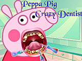 Свинка Пеппа у сумасшедшего стоматолога