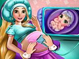 Обследование беременной Рапунцель