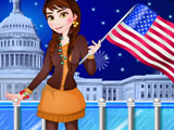 Анна отмечает День независимости США