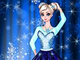 Холодное сердце одевалки: Эльза балерина