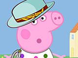 Свинка Пеппа одевалки