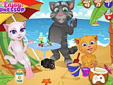 Том Анжела и Рыжик летние каникулы