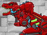 Трансформеры: диноботы тиранозавр и трицератопс