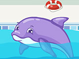 Безделье дельфин