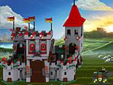 Лего защита замка