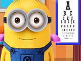 Миньоны лечить глаза
