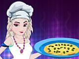 Эльза готовит Тамале