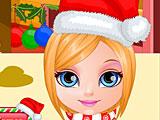 Малышка Барби Рождество
