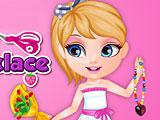 Малышка Барби хобби бисер ожерелье