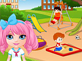 Малышка Барби охота за сокровищами
