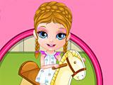Малышка Барби травма на игровой площадке