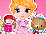 Малышка Барби мягкие игрушки