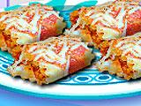 Кухня Сары рулеты из лазаньи с курицей