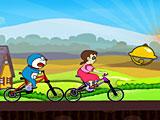 Дораэмон гонки велосипеды