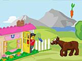 Лего лошади