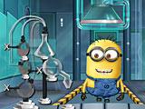 Миньоны лаборатория напитков