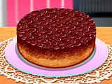 Кухня Сары вишневый перевернутый пирог