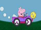 Свинка Пеппа гонки на машине