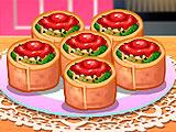 Кухня Сары ротоло со шпинатом