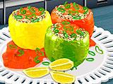 Кухня Сары фаршированные перцы