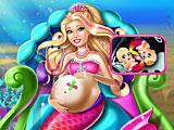 Лечить беременную Барби русалочку