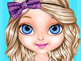 Малышка Барби блестящая мода