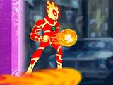 Ben 10 Heatblast attack