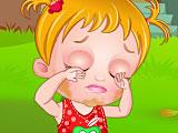 Малышка Хейзел лечит глаза